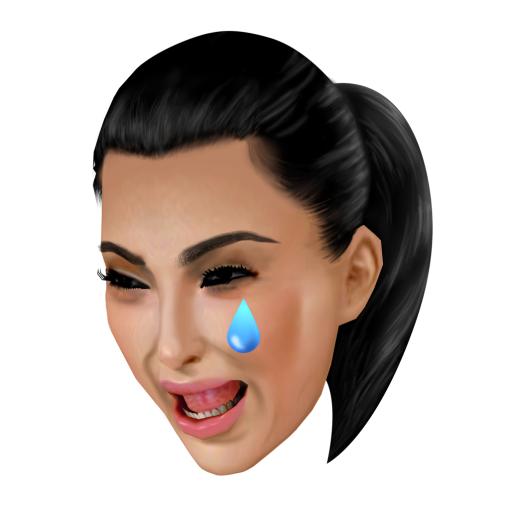 Kim Crying Face